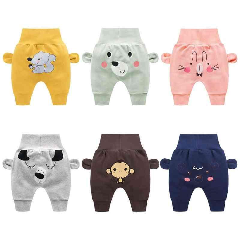 Baby / Girl Cartoon High Waist Protection Belly, Spring & Autumn Newborn Infant Trousers Cheap Stuff