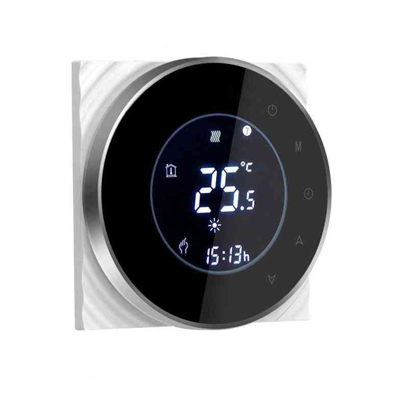Smart Wifi Touch Thermostat- Wireless Controller For Electric Floor Heating