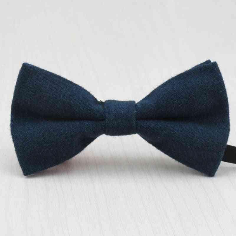 Baby Fashion Imitation Wool Bow Tie