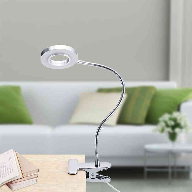 Led Desk Lamp With Clamp - Dimmable Reading Light