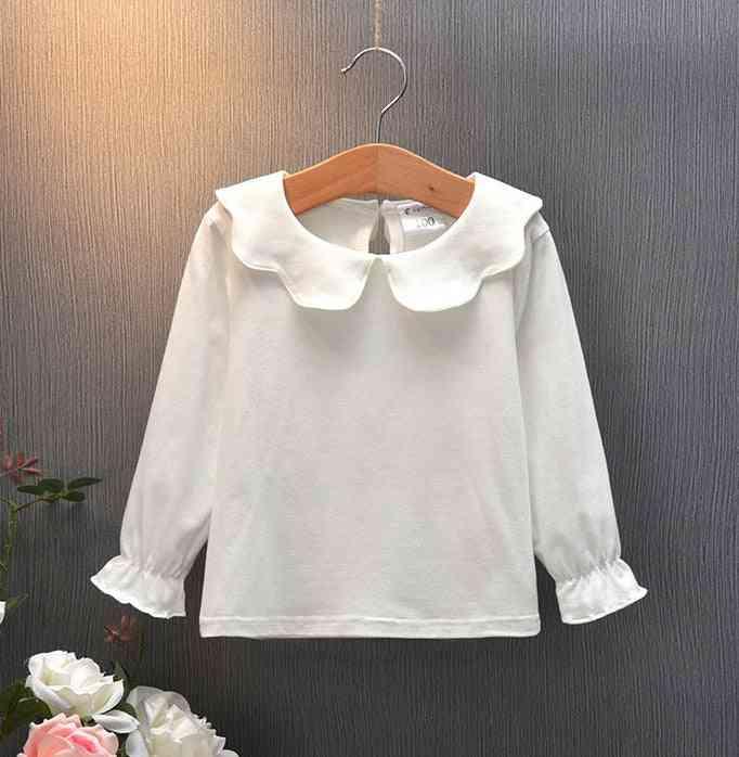 Long Sleeve Doll Collar - Baby Princess Tops / Shirts