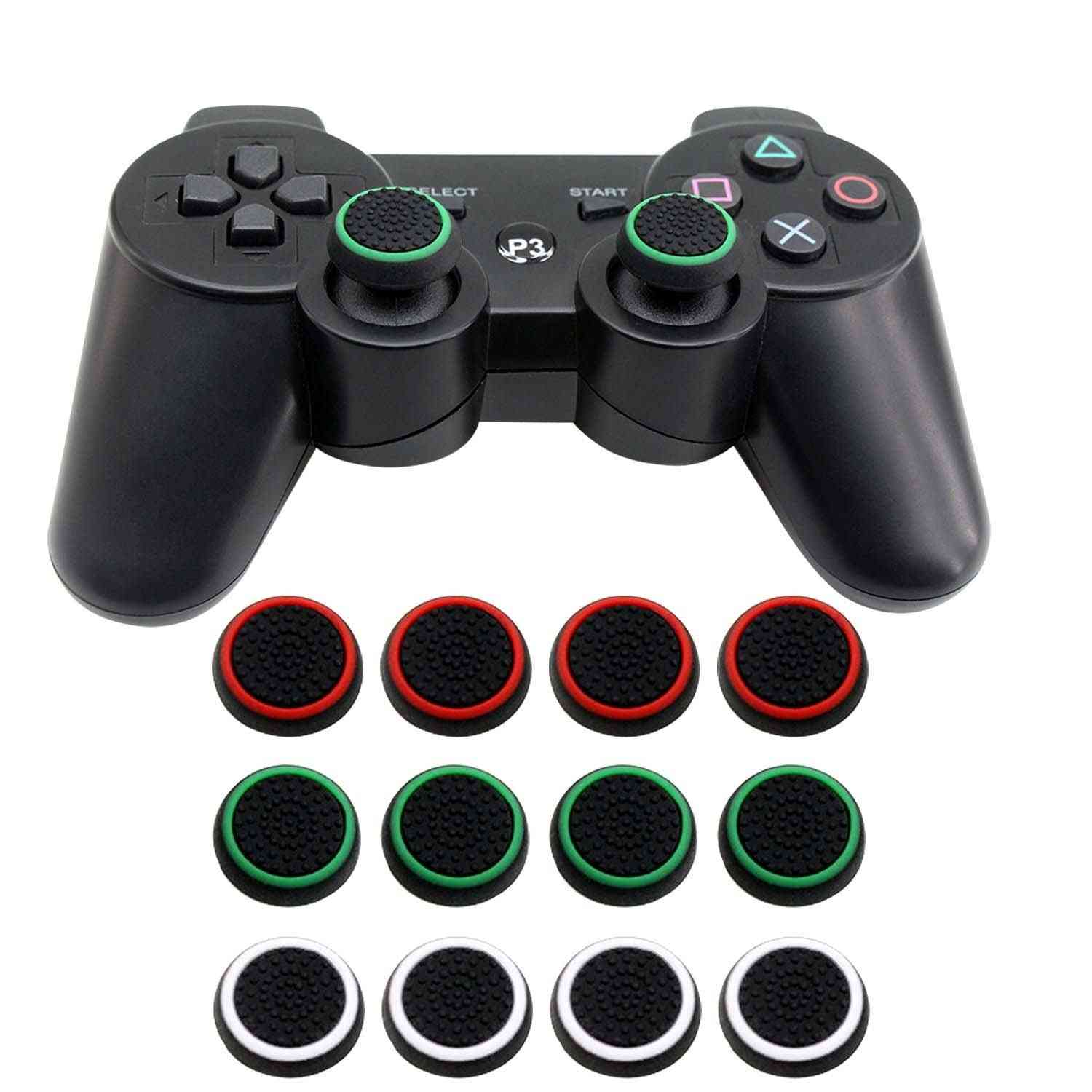 Soft Silicone, Anti-slip Thumb Grip Stick Cover - Case Skin For Sony Play Station