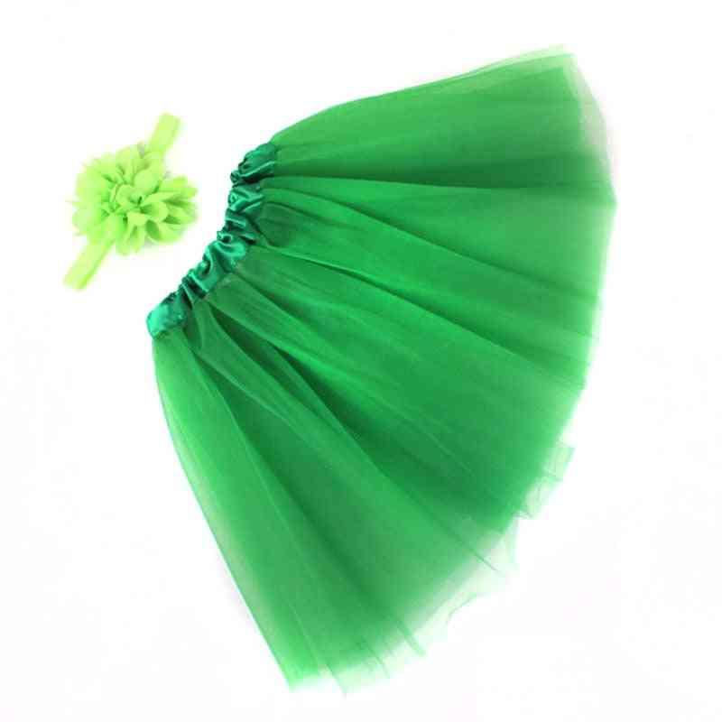 Lovely Tutu Skirt And Headband Set- Newborn Photography Props