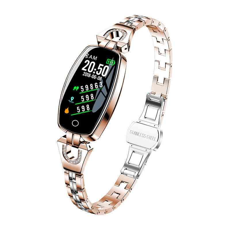 H8 Smart Watch, Blood Pressure Heart Rate Monitor, Sport Waterproof Bracelet
