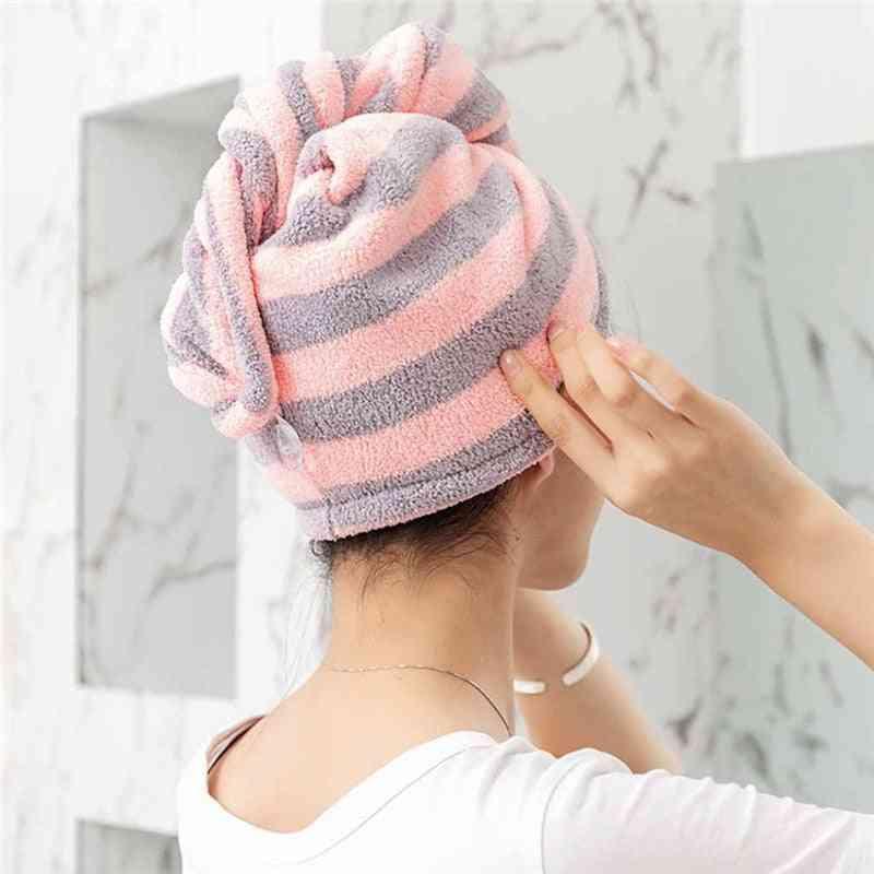 Magic Microfiber Bathing Quick Dry Hair Cap