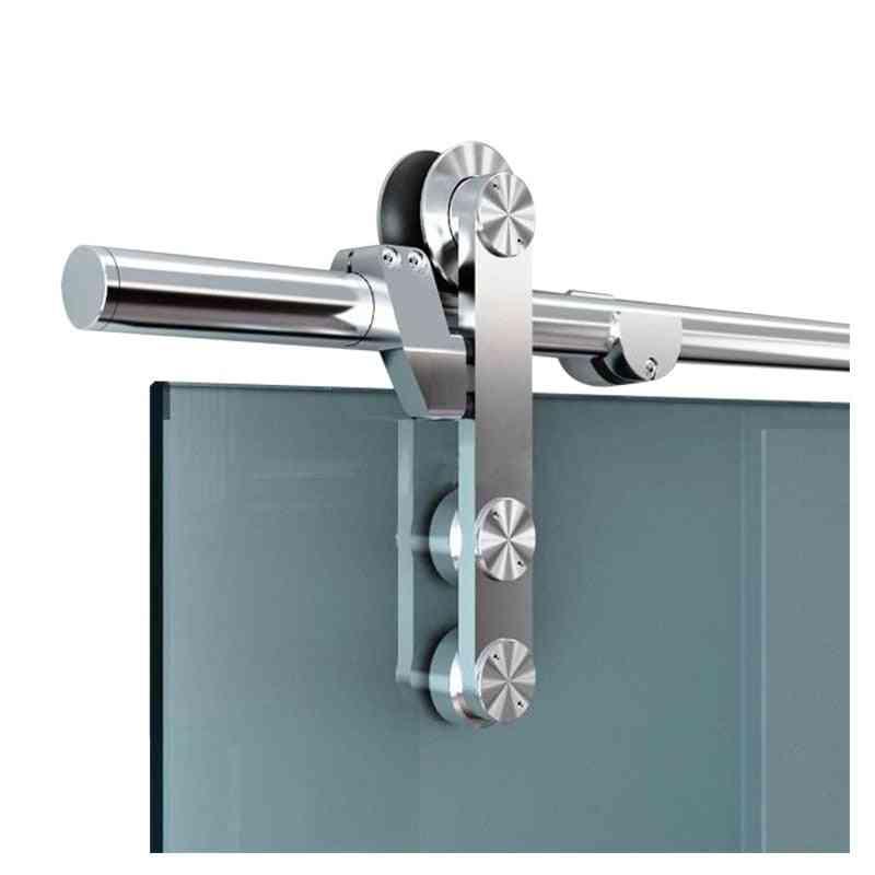 Sliding Door Track, Interior Office Glass Barn Kit