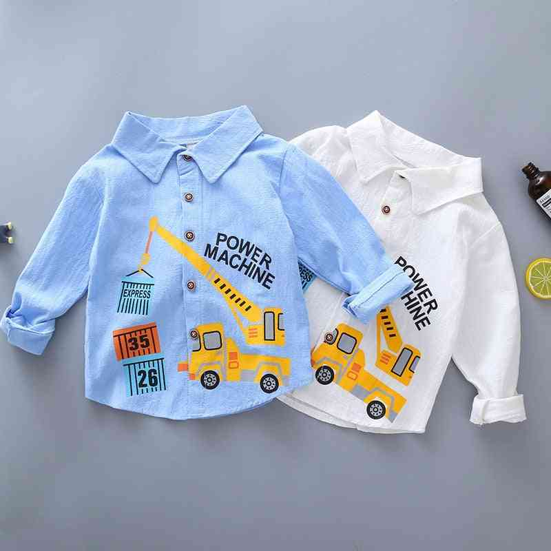 Shirt / Tops Clothes, Spring Thin Toddler Infant Boy Long Sleeve Tees Baby