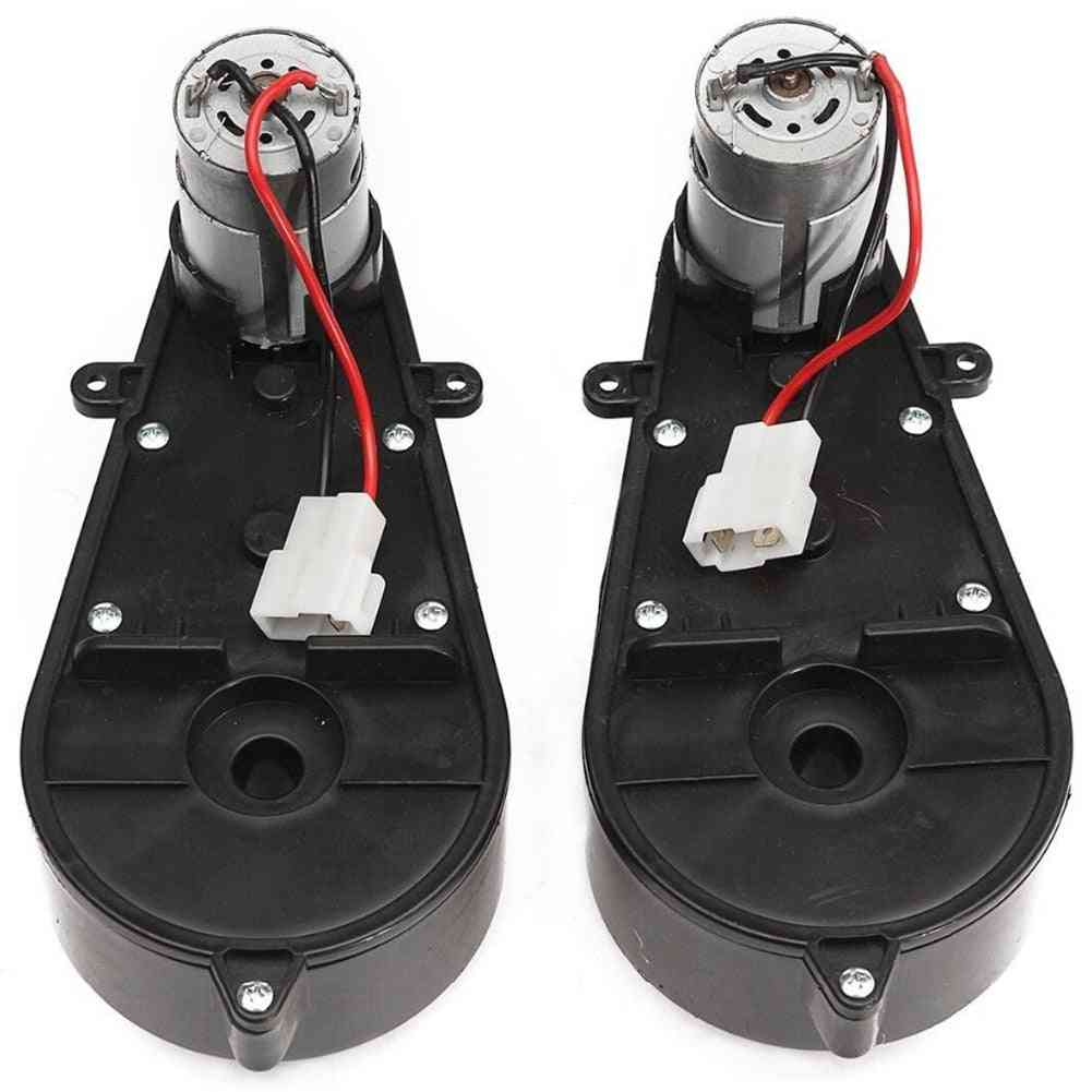 12vdc Universal Gearbox With Motor For