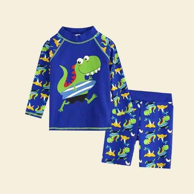 Boys Swimsuit Set, Tops & Pants Nocap Swimwear