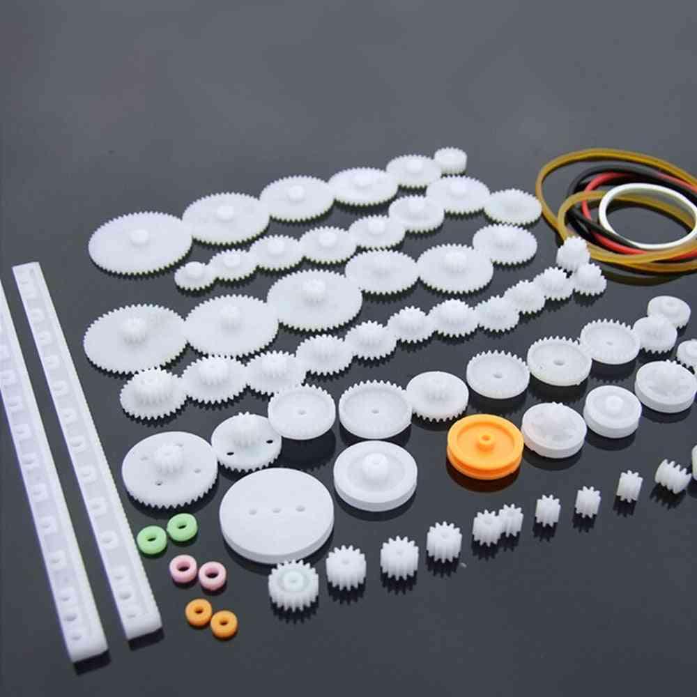 Plastic Gear, Rack, Pulley And Belt Drive (8-56 Teeth)