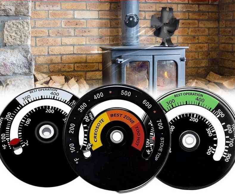 Magnetic Fireplace Thermometer