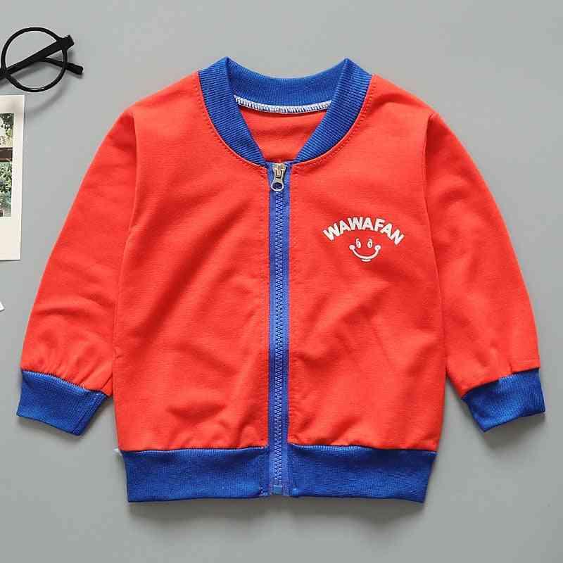 Round Collar, Long Sleeve Coat / Jacket