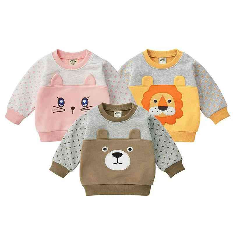 Winter Long Sleeved Casual T-shirt / Top For Newborn Baby