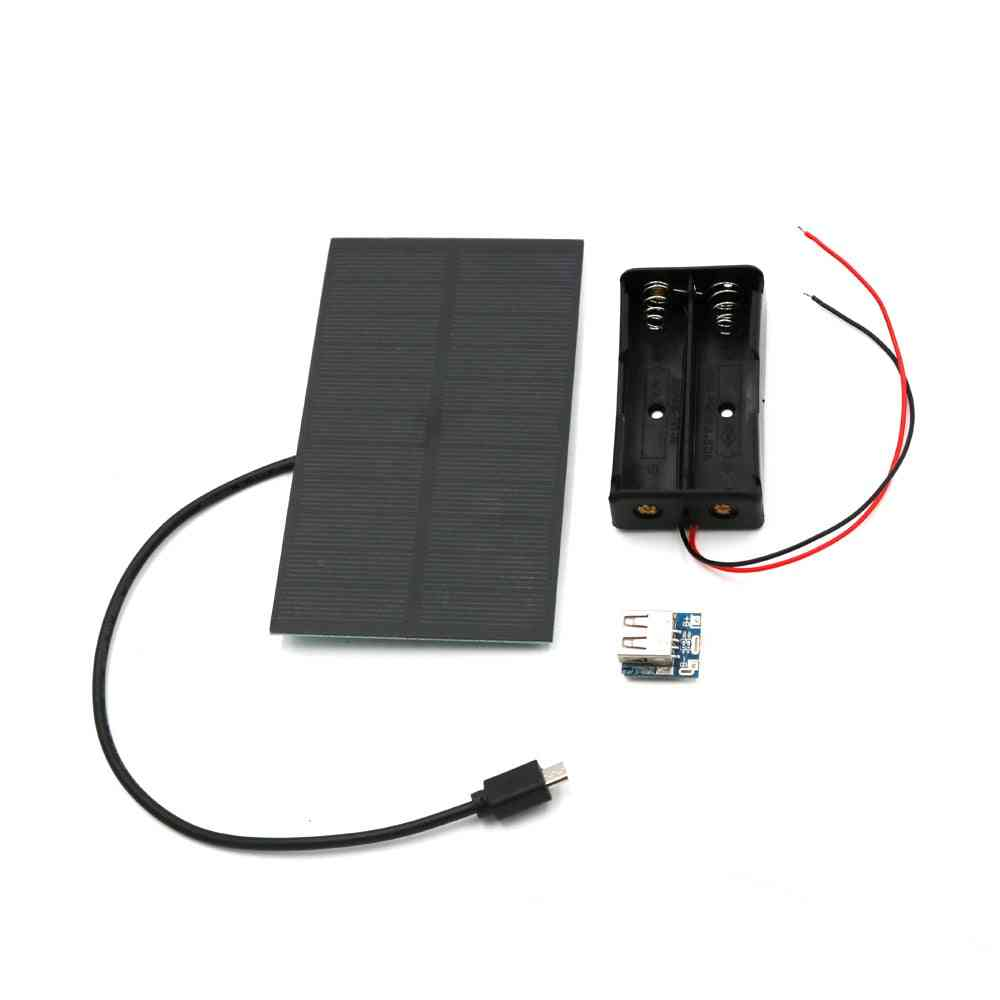 Solar Panel Power Bank Battery -  8650 Lithium Battery Charger Pcb Board