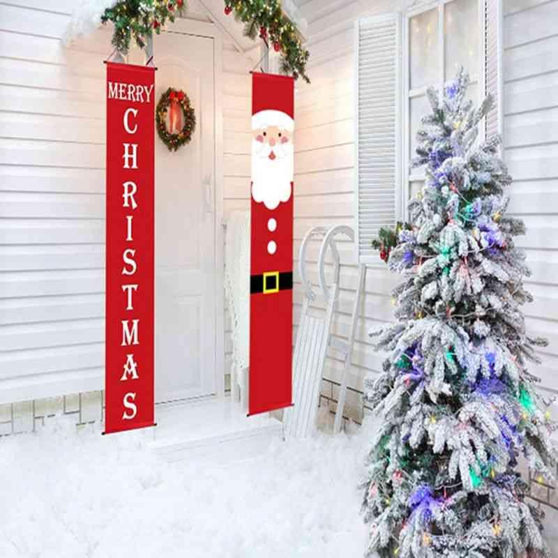 Merry Christmas Decor Banners