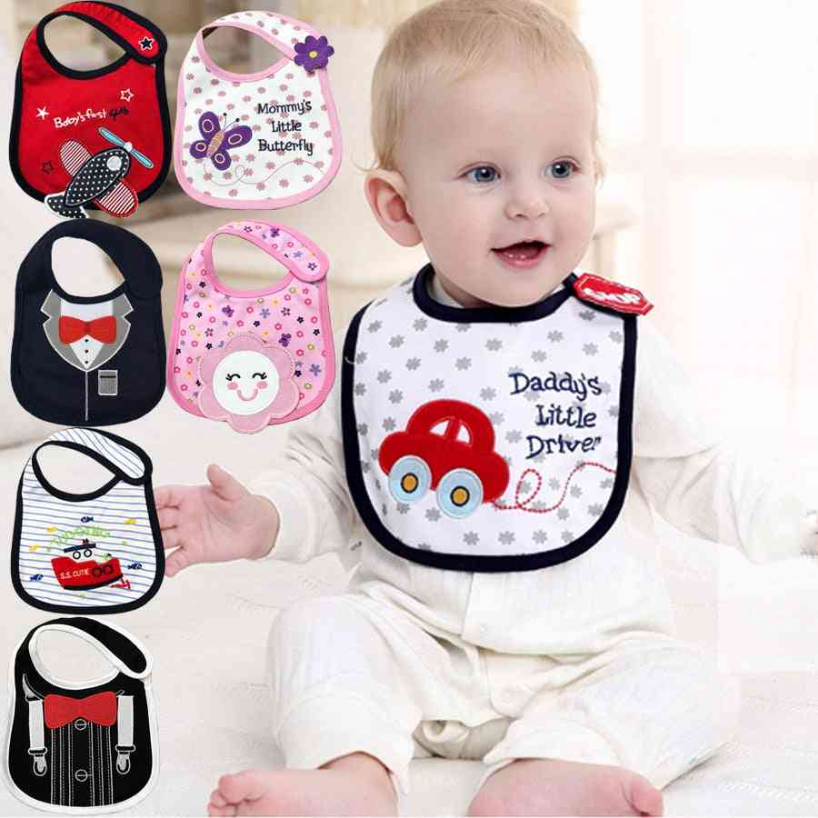 Cotton Waterproof Bandana,  Baby Bibs & Burp Cloths