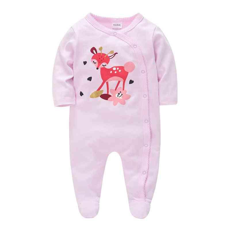 Baby Cute Deer Pajamas, Cotton Jumpsuit Clothes