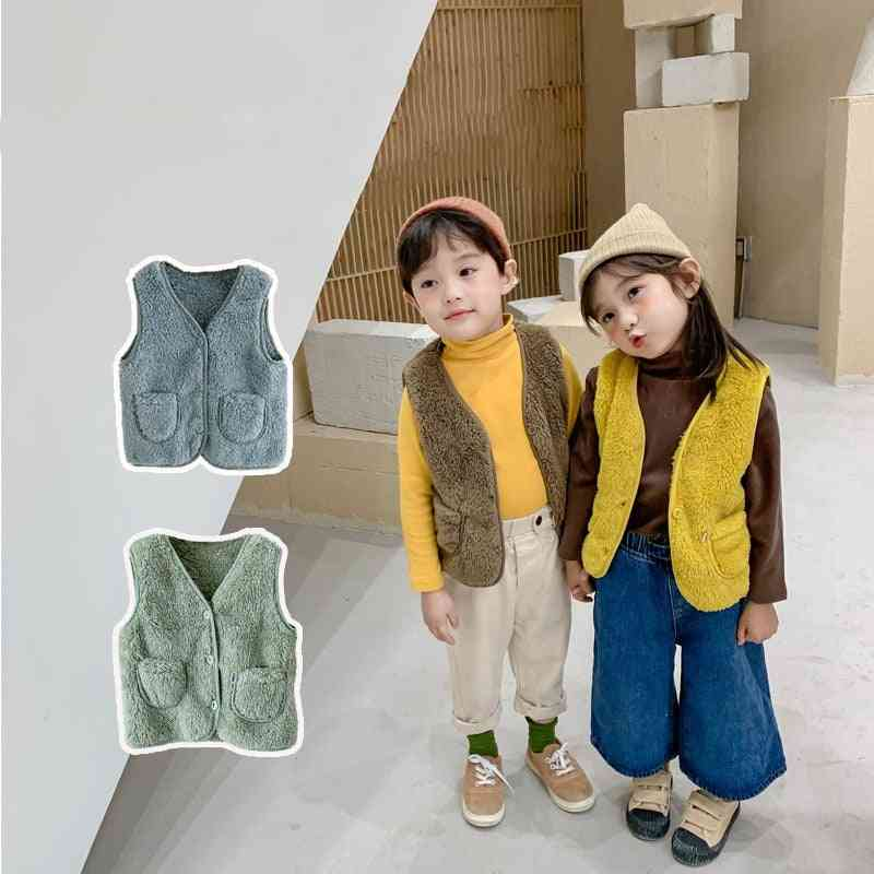 Children Warm / Plush Vest