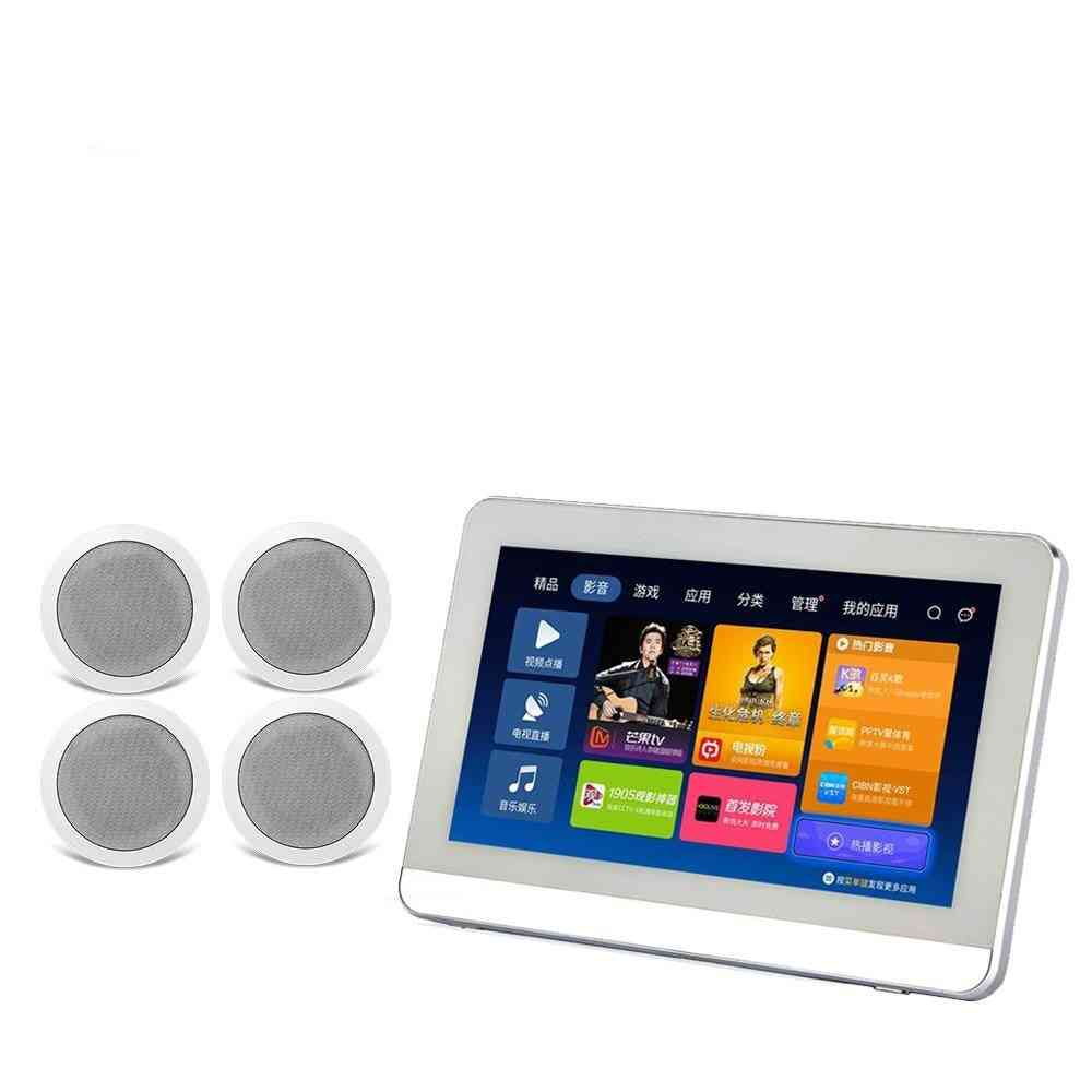 Touch Screen In Wall Android Amplifier-with Hdmi