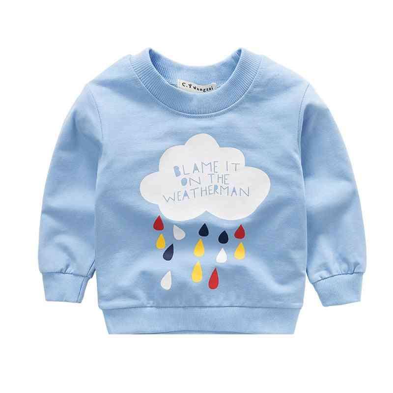 Cartoon Animal Long Sleeve Cotton Sweater / Sweatshirts