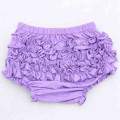Cotton Ruffle Cute Baby Girl - Diaper Cover Shorts / Bloomers