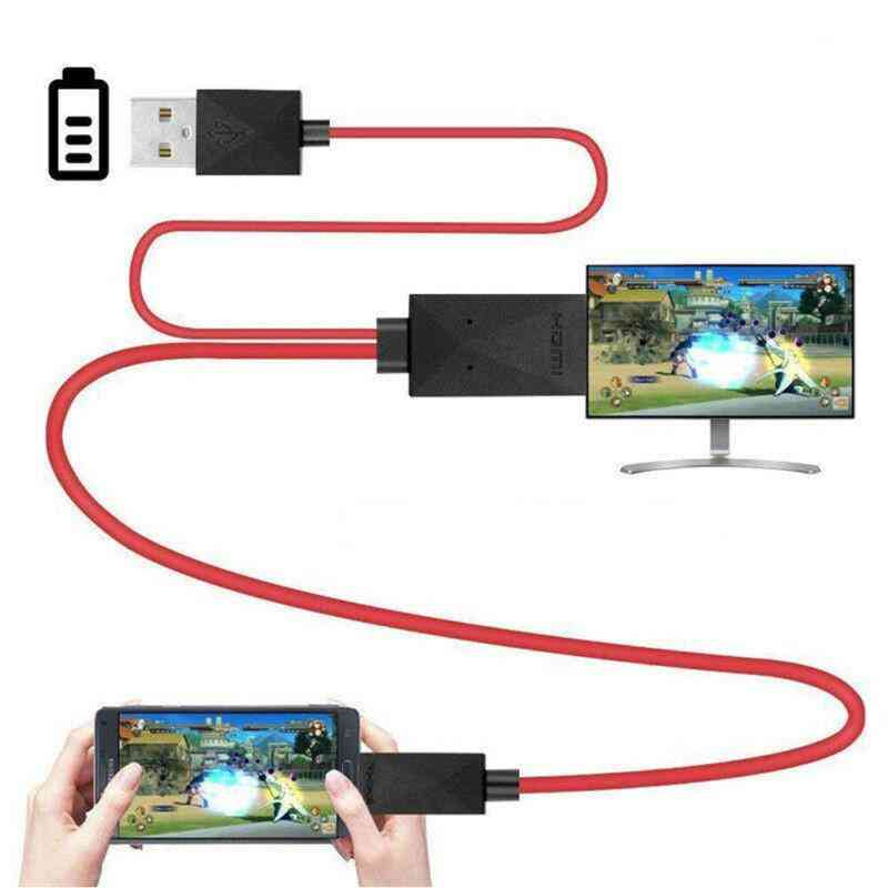 1080p Mhl Micro Usb To Hdmi Hd Tv Cable Adapter