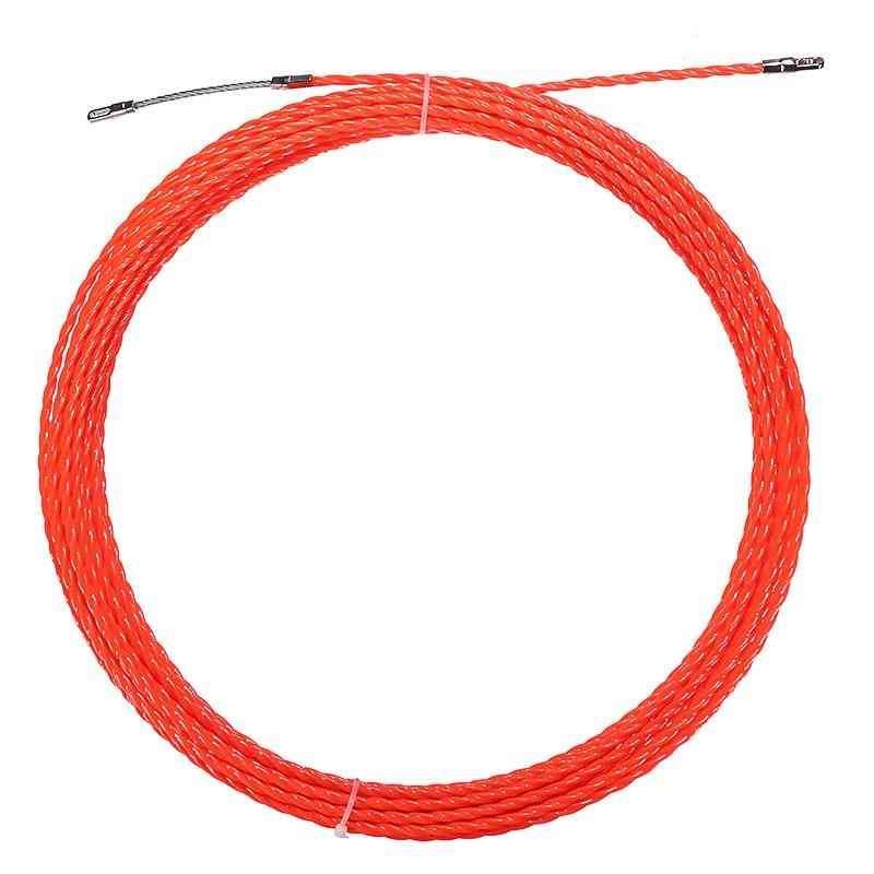 30m Nylon Snake Cable, Push Puller Fish Tape Reel Conduit Ducting Rodder Pulling Pullerwire