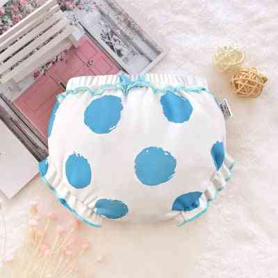 Infant Fashion Solid Color Bow Lace Underpants / Panties For Baby