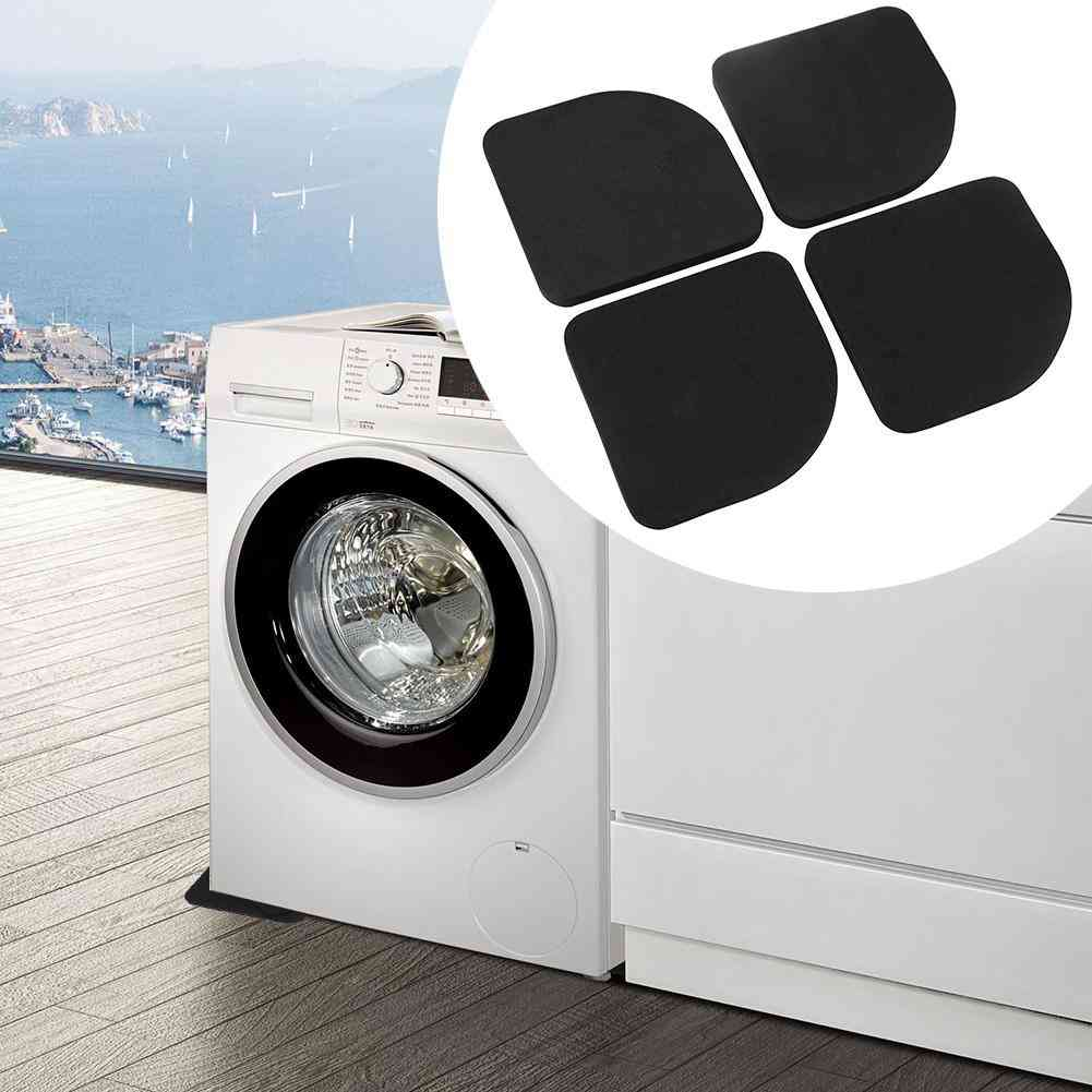Washing Machine Anti-vibration Pads Square Refrigerator, Non-slip Floor Furniture Protectors