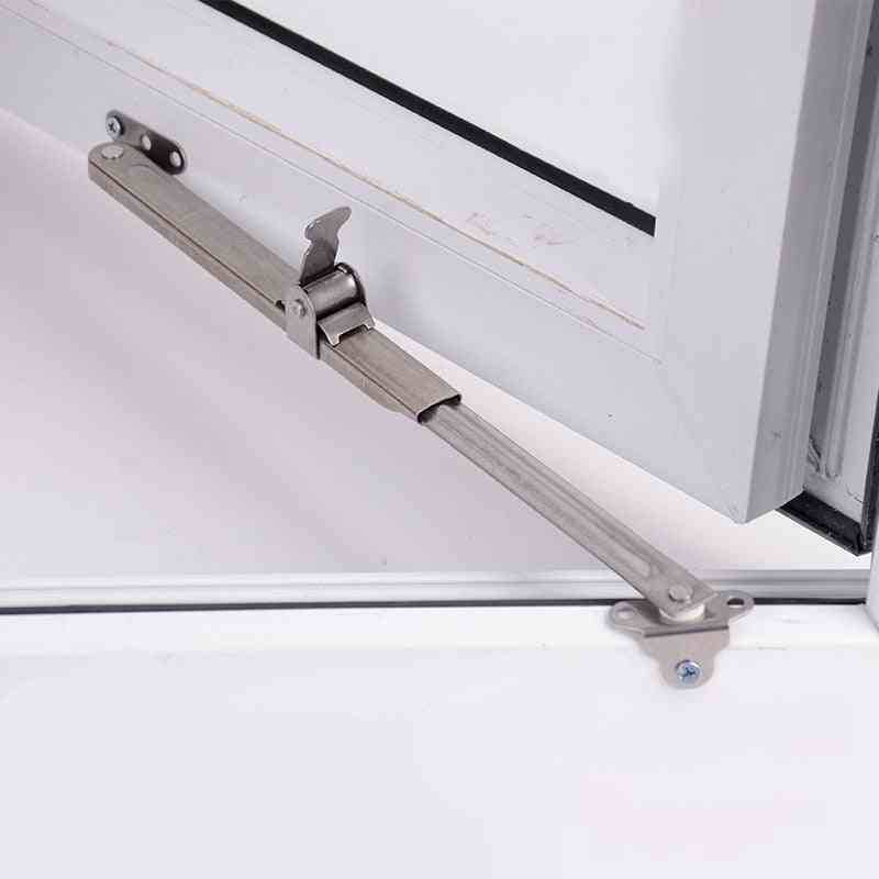 Stainless Steel Telescopic Wind Support, Window Limiter Angle Controller