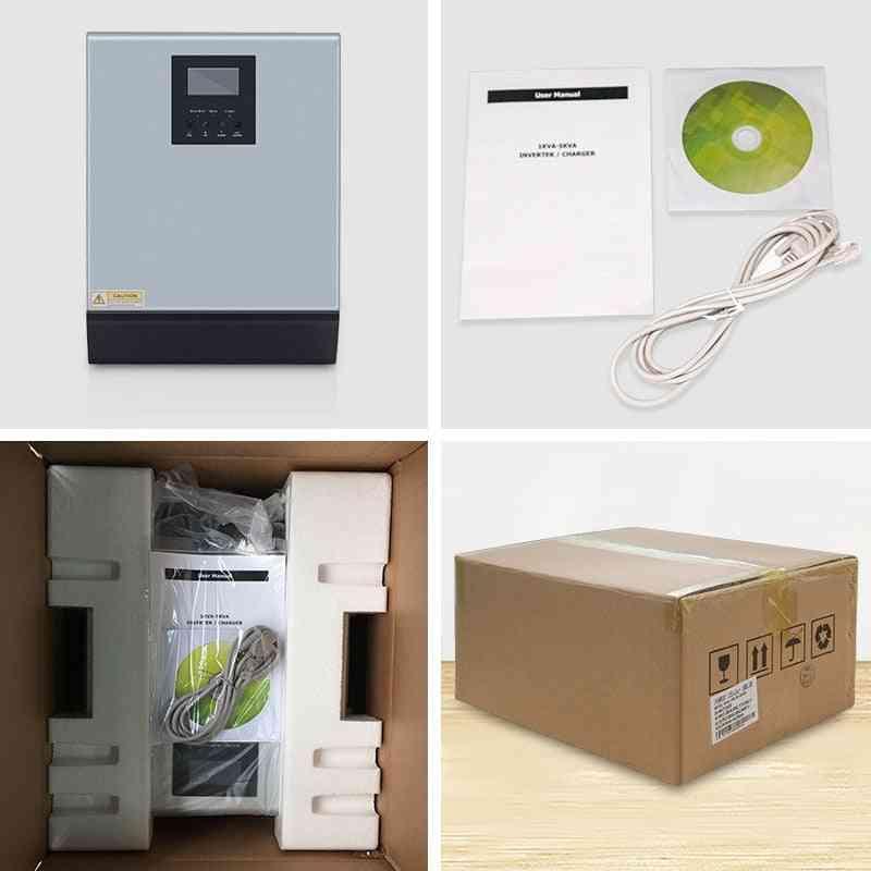 Hybrid Solar Inverter, Pure Sine Wave, Built-in Mppt Controller Battery