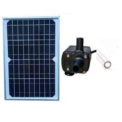 Solar Powered Panel And Water Submersible Pump