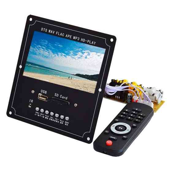 Wireless Bluetooth Audio Video Decoder, Lcd Screen Dts Lossless Module