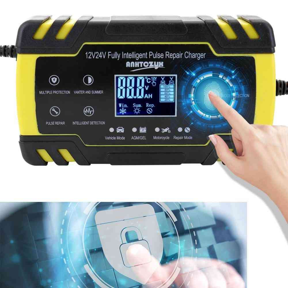 Smart Battery Charger, Portable Adapter With Digital Display