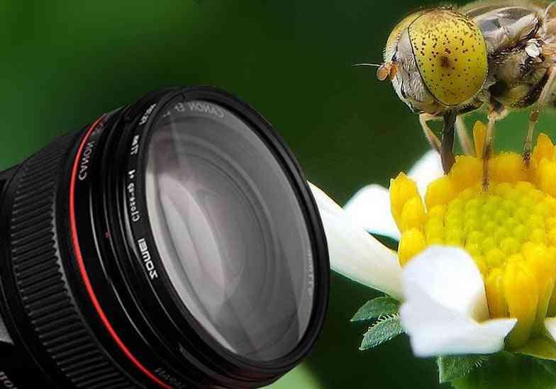 Macro Close-up Lens Filter -optical Glass For Camera