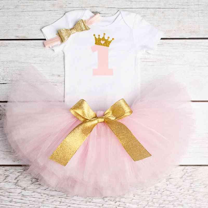 Princess Tutu Dress Clothes, Baby Baptism