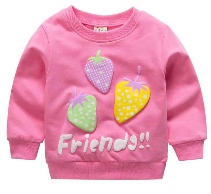 Baby Clothes Sweatshirts - Soft Cotton Top Cartoon Sweater, Spring Autumn Pullover Kids Outerwear