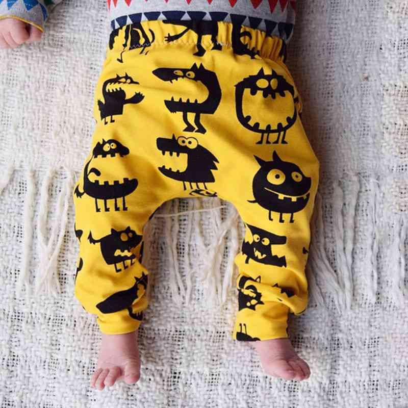 Newborn Baby Boy / Girl Monster Bottom Harem Pants, Leggings Trousers Cotton