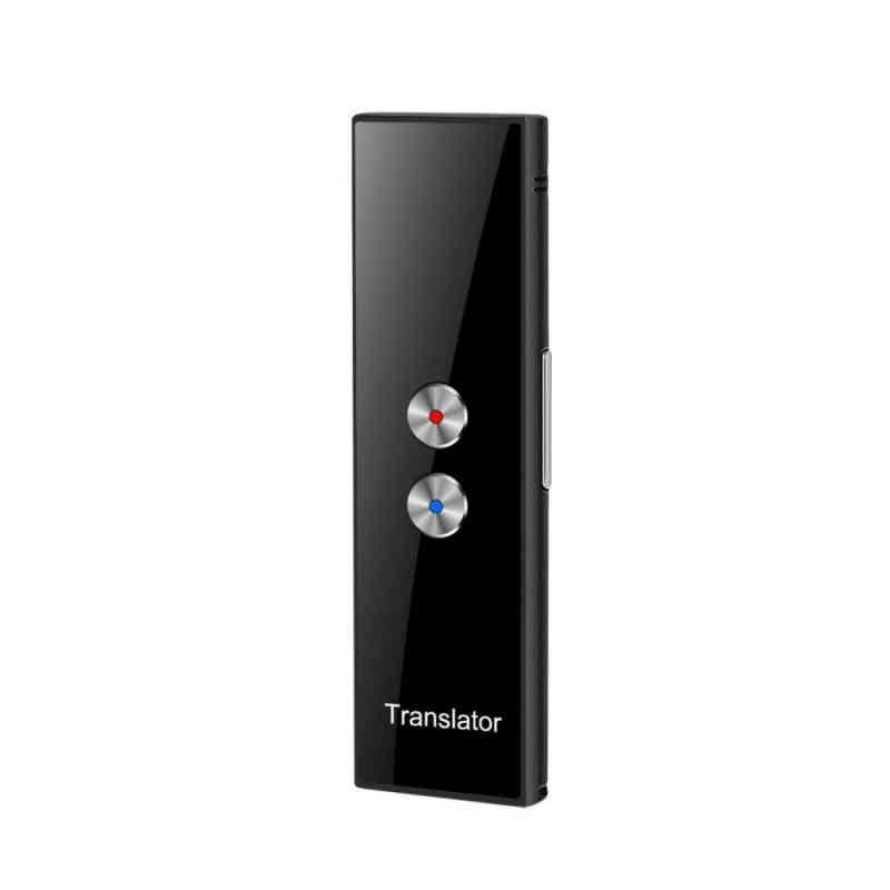 Portable T8 68 Multi-language Smart Voice Speech Real Time Translation