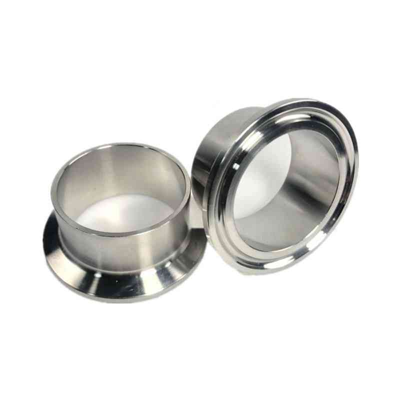 Stainless Steel, Round Shape Sanitary Pipe Weld Ferrule
