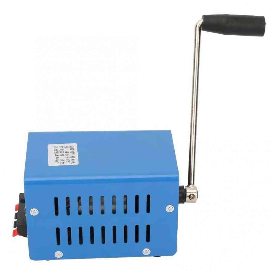 Portable High Power, Usb Charging-hand-cranked Generator