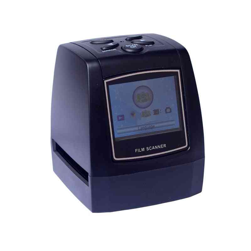 35mm Portable Sd Card Film Scanner With Usb And Av Cable