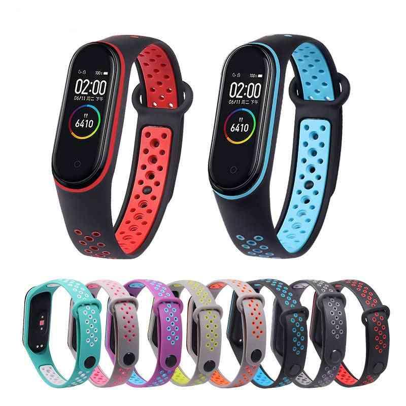 Smart Watch Wrist Bracelet Breathable Strap