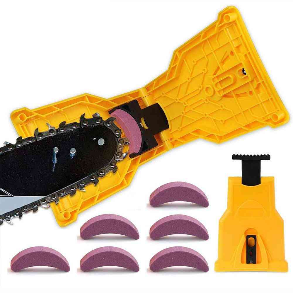 Portable Chainsaw Teeth Sharpener - Woodworking Tools