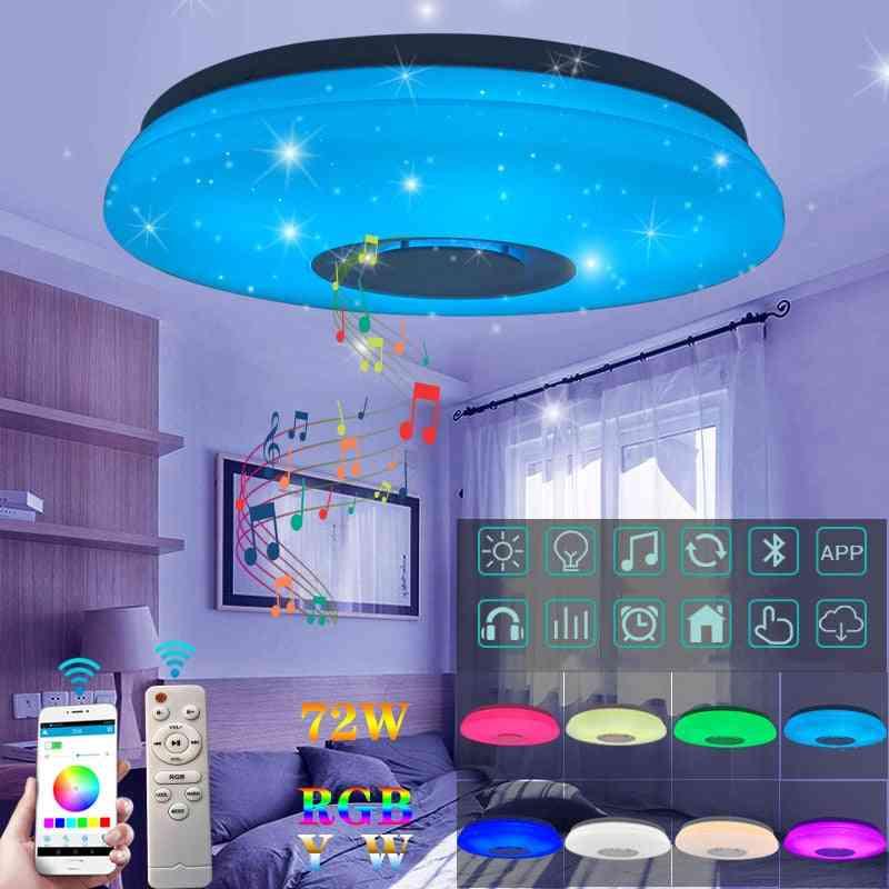 Led Ceiling Light Speaker, App & Remote Control
