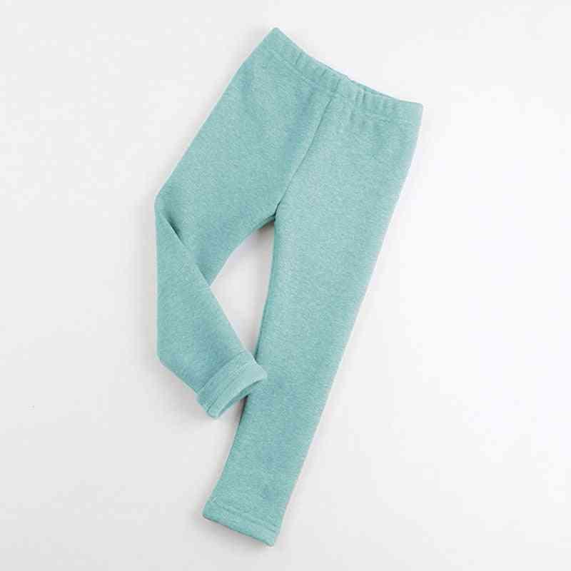 Winter Leggings, Cotton Plus Thick Velvet Warm Pants