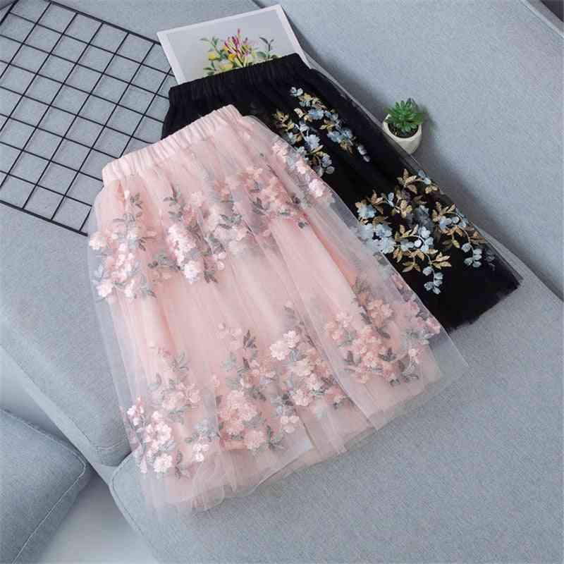 Baby Layered Skirts, Long Princess Child Clothes
