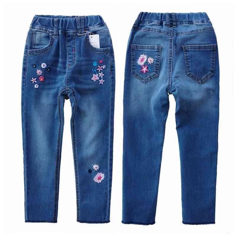 Chumhey Jeans, Spring Cotton Stretchy Soft Denim Pants