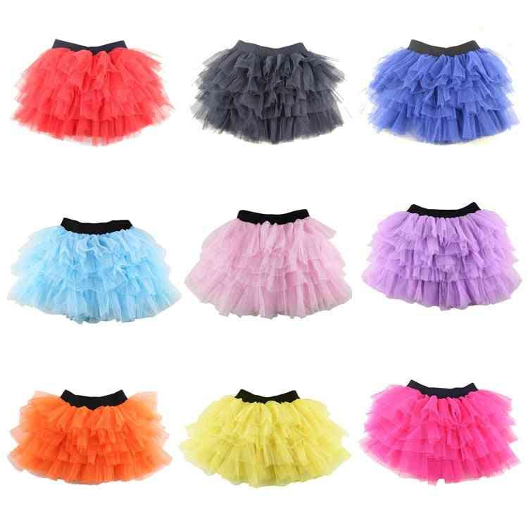 Baby Girl Cotton Tulle Skirt