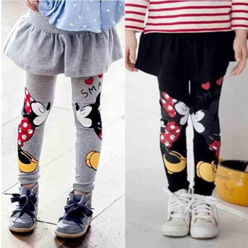 Kids Girl Toddlers Legging Skirt-pants,'s Bootcut